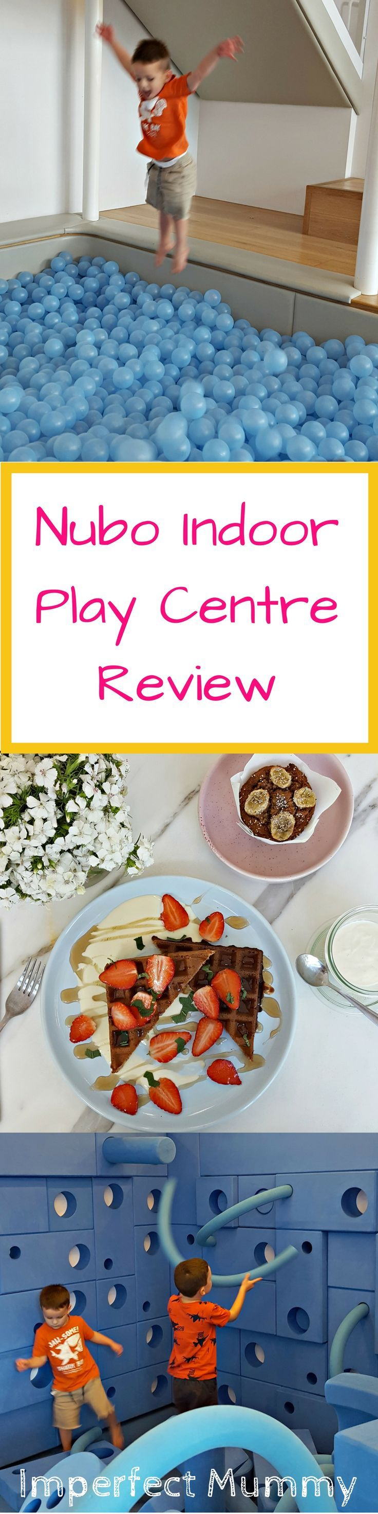 NUBO is a play centre that's thought beyond the needs of a sticky 1 year old. It's an area that is calm, clean, relaxed and a pleasure for even grown up's
