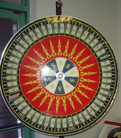 Our Money Wheel Of Fortune Will Thrill Your Guests As They