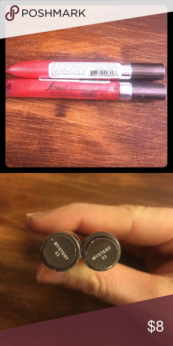 Sorme Tasty Tubes Mystery lip gloss Brand new still in sealed wrapping, I have two total but price listing is for one. Sorme Makeup Lip Balm & Gloss