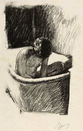 Pierre Bonnard, Le Bain, 1925