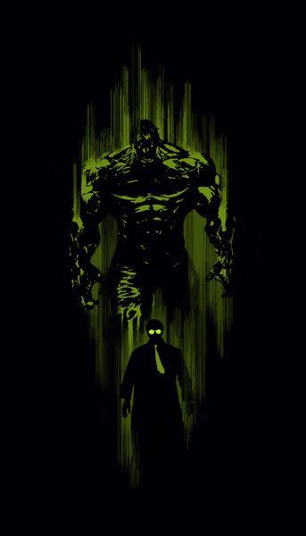 Hulk tattoo idea