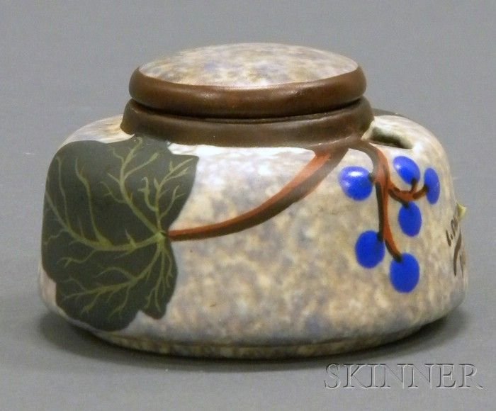 Exceptionnel 212 best 43) Tin-Glazed Faience Inkwells images on Pinterest  VH76
