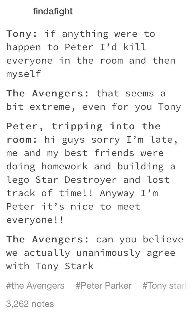 Peter Parker is the most precious thing ever <<< I agree to