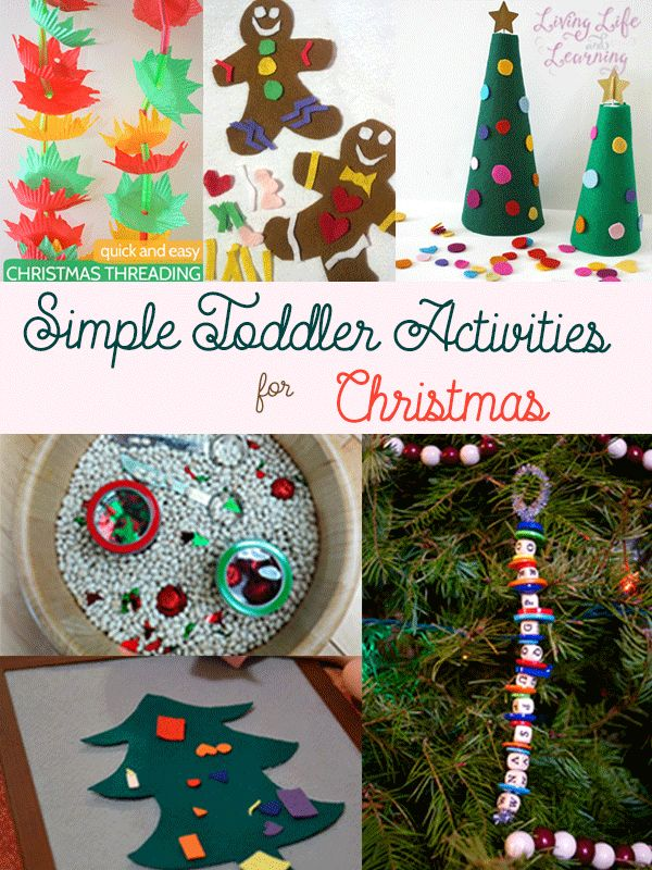 Must do easy toddler activities for Christmas