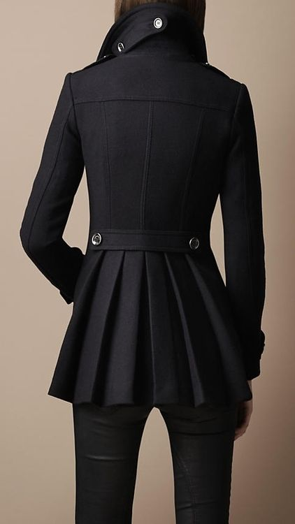 Fashion   Female   Black   Coat