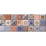 F.ARAGON AZUL 22.5x60