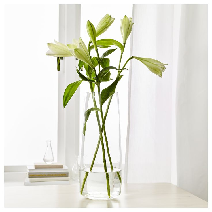 IKEA - BERÄKNA Vase clear glass