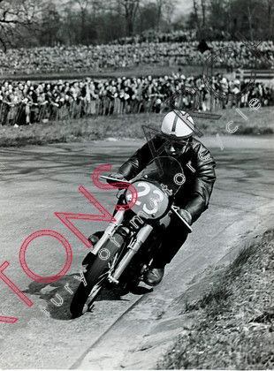 John Surtees (Norton) Lead From Start The Start And Set A New Race And Lap  Record At Crystal Palace In April 1954