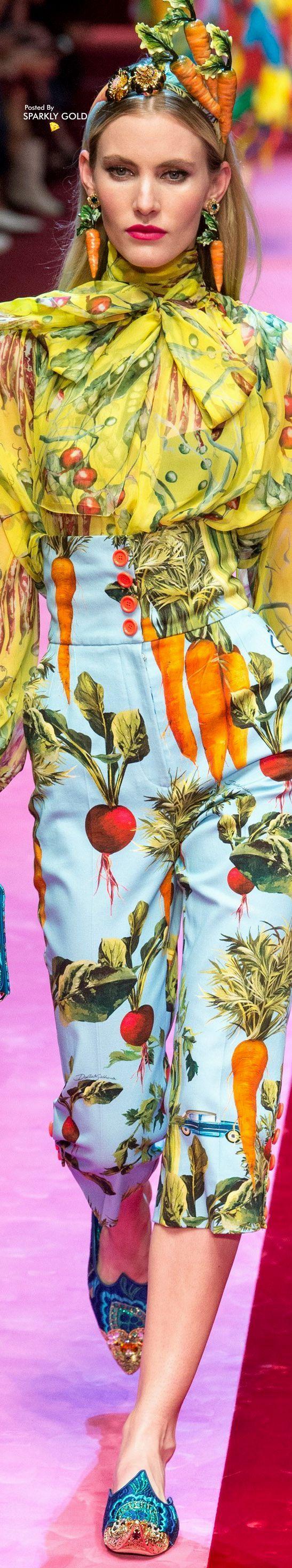 Dolce & Gabbana Spring 2018 RTW