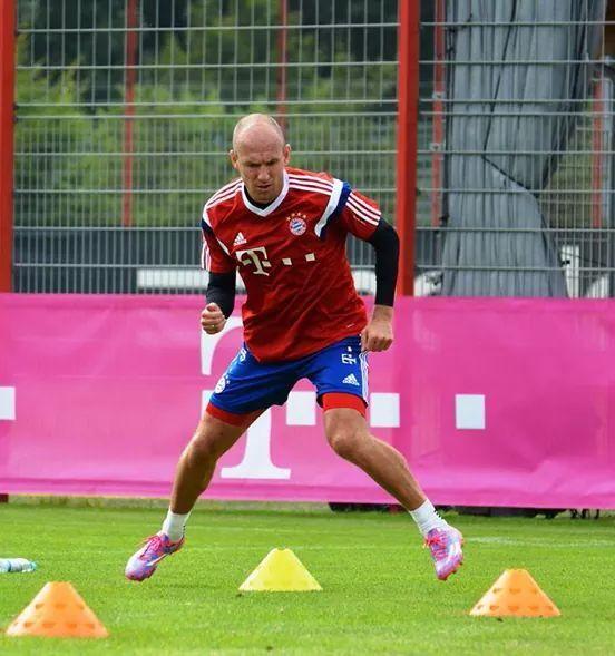 Arjen Robben Training