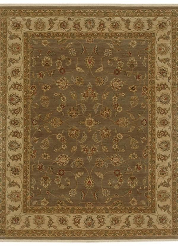 $246.00 Opus Gray Brown/Soft Gold Traditional Rug