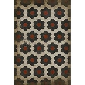 Vinyl Floorcloth ~ Organic Synthesis - Cece & Me - Home and Gifts