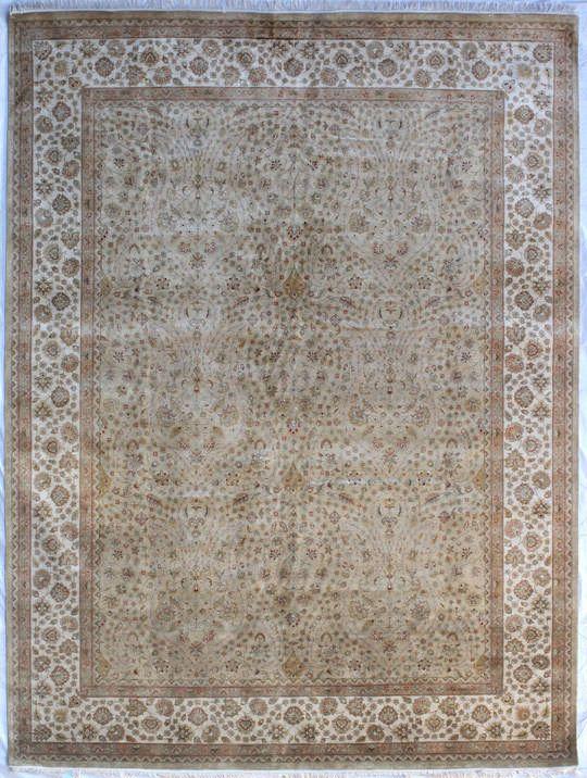 Индийские ковры - ковер из натурального шёлка