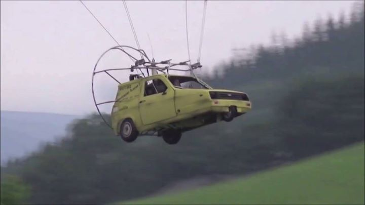 """Just for fun.😂😂😂 When your hobby gets out of hand.🔩🔧 """"No Del,we don't have a car phone"""" www.atdrones.co.uk This car was in a British comedy, Only fools and horses #action #urban #win #sport #video #aerialphotography    #sports #camera #photography #photo #amazon #film   #gopro #dronephotography #drone #dronestagram #dji #drones"""