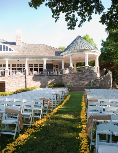 Perfect Outdoor Setting The Golf Club Of Oklahoma Party Venueswedding