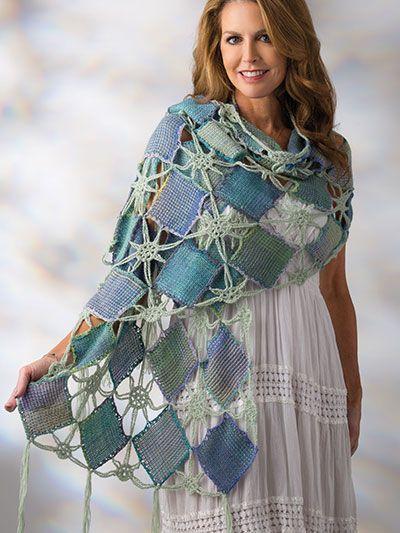 Shawl Crochet Pattern - Spring Madras