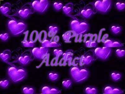 100% Purple Addict
