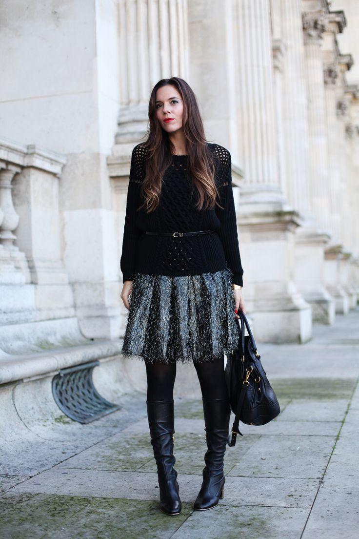 #fashion #fashionista @Irene Hoffman Colzi outfit gonna a vita alta