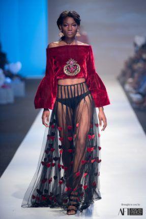 Gavin Rajah, Joanna Headley & Lara Klawikowski @ Mercedes Benz Fashion Week Kapkaupunki 2017; Päivä 1   FashionGHANA.com: 100% Afrikkalainen muoti
