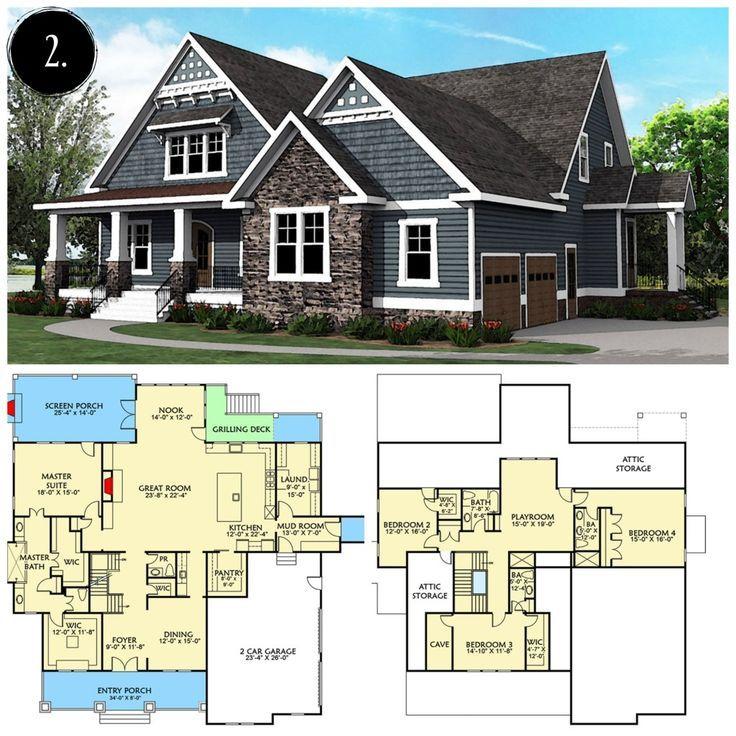 12 Modern Farmhouse Floor Plans Farmhouse Floor Floorplans