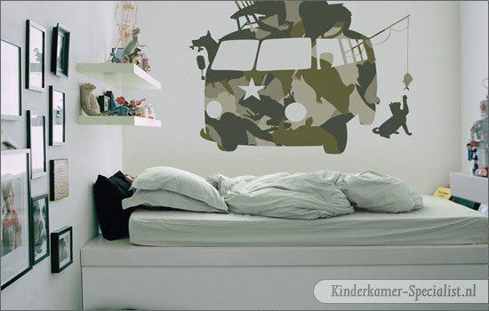Een Spannende Camouflage Kinderkamer