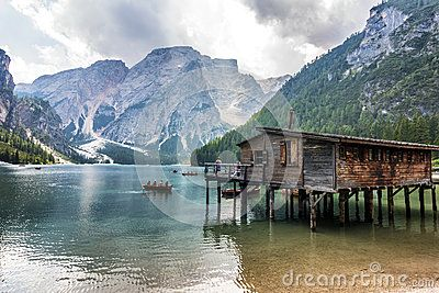 Lake of Braies - Lago di Braies - Dolomiti
