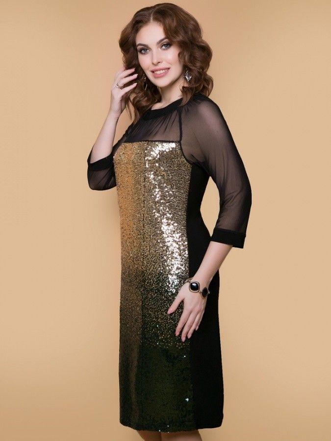 14d7eef529cb5 Новогодняя коллекция женские платья вечернего стиля купить недорого в  интернет-магазине GroupPrice