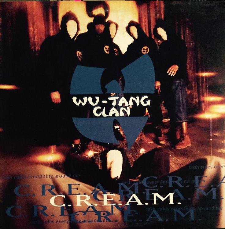 "Wu-Tang Clan - ""C.R.E.A.M."" RCA records 1994 #rap #vinylrecords.#RZA #GZA #MethodMan #Raekwon #OldDirtyBastard. Break beats. #hiphop #music #wutang"