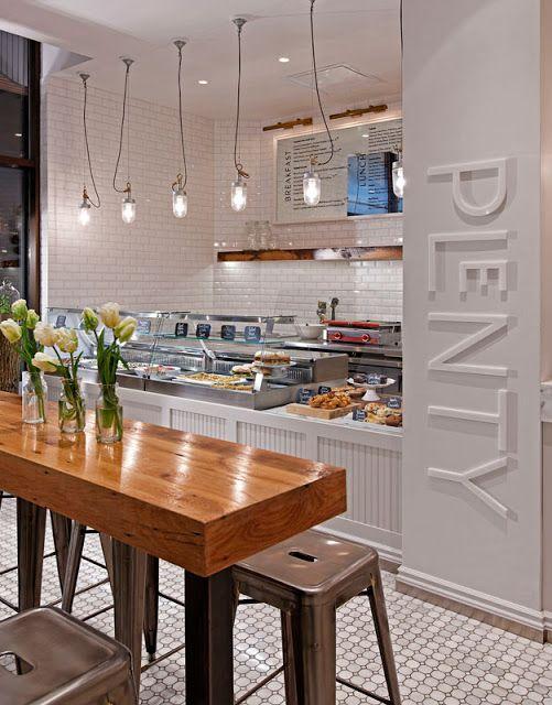 Kaper Design; Restaurant  Hospitality Design Inspiration: Cafe Plenty