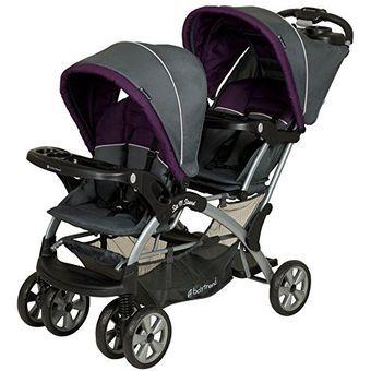 Coche Doble Baby Trend Elixer Para Bebé
