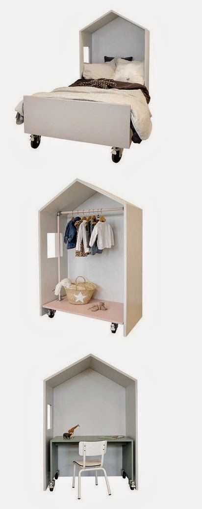 mommo design: LITTLE HOUSES one house 3 uses