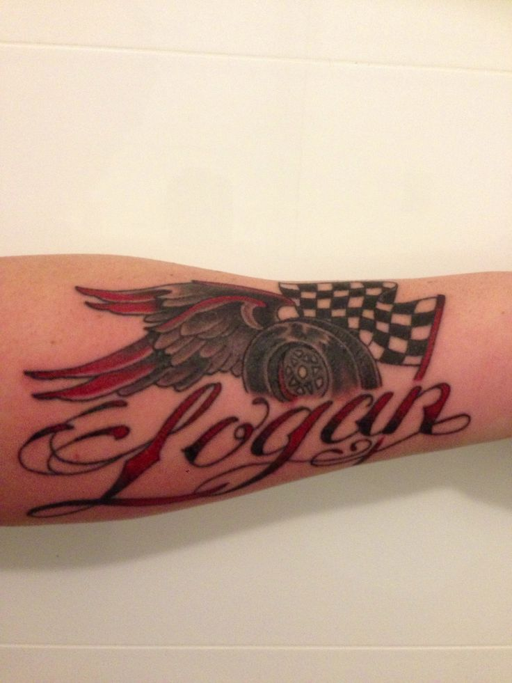 My tattoo for son Logan! #southcoasttattoo