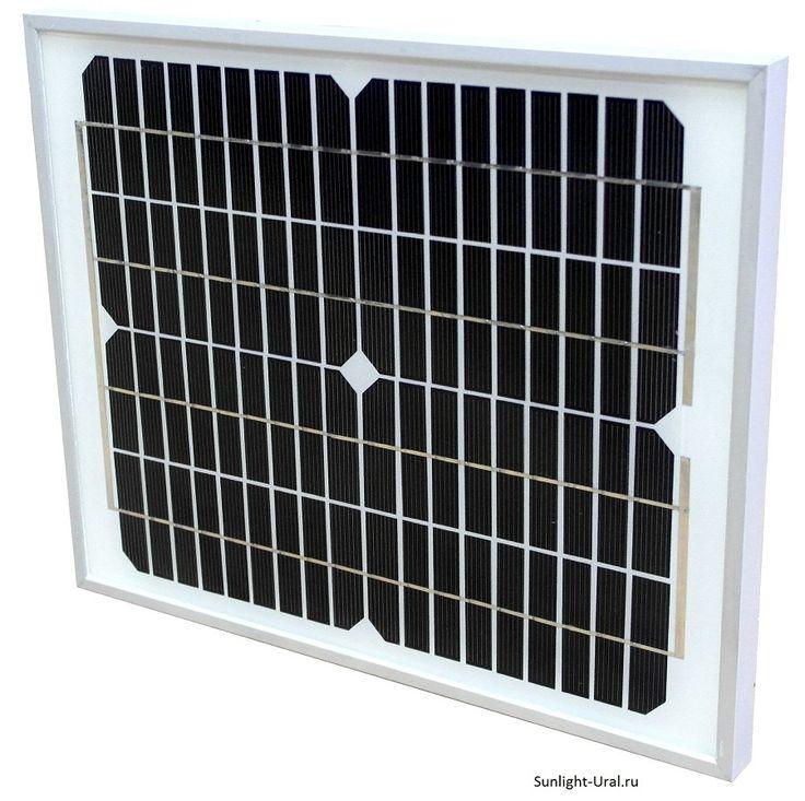Солнечная батарея Exmork 10 ватт 12В Моно
