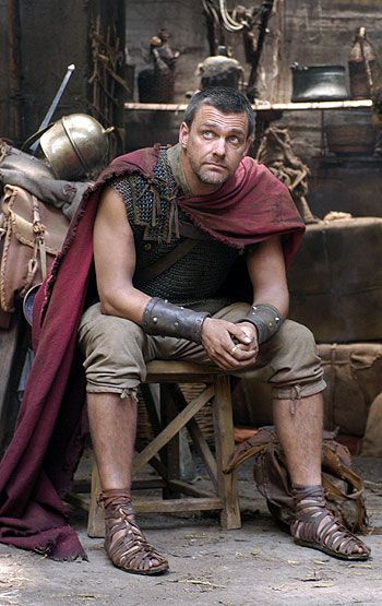Ray Stephenson as Titus Pullo, in the HBO series, ROME.