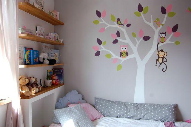 Puszczykowo - dzieciakowo: Dekorowanie ściany w pokoju dziecka w pięciu krokach