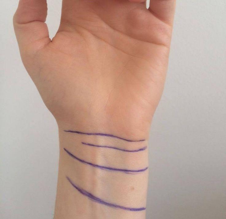 Poignet : Il n'y a pas que les lignes de la main qui ont une signification…