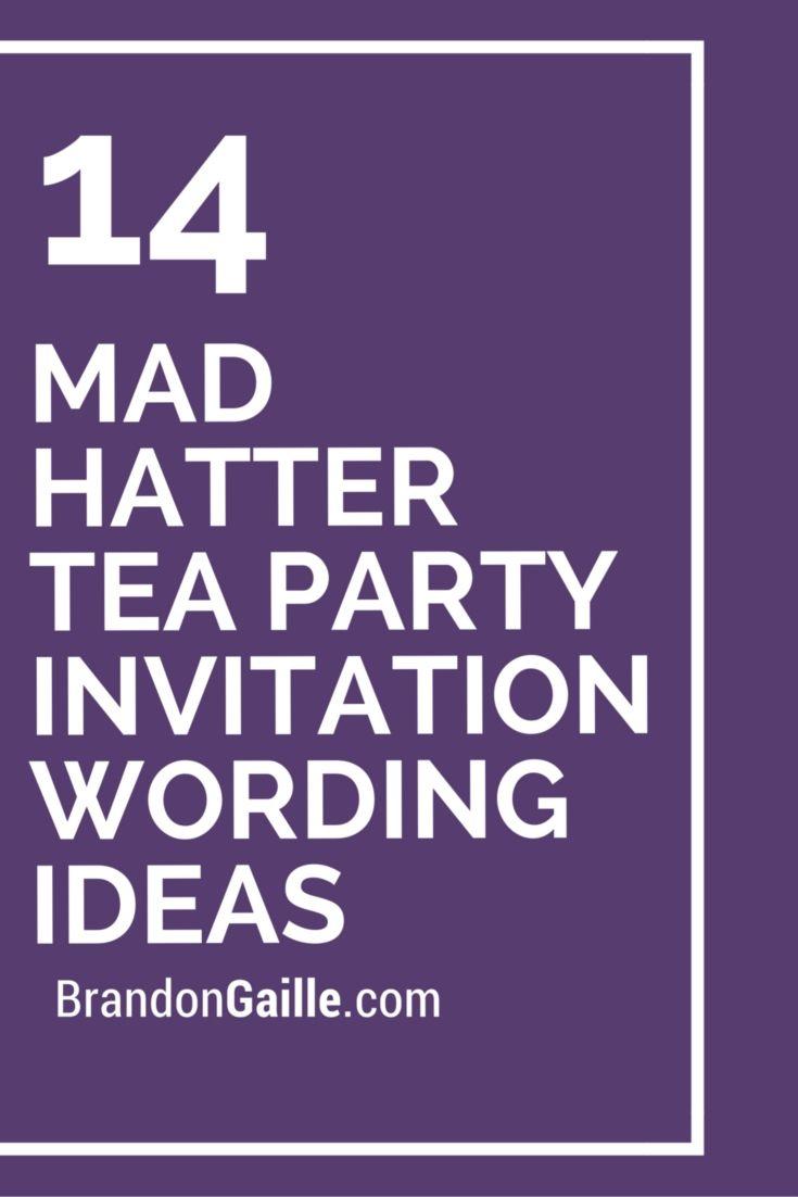 Best 20 Mad hatter tea ideas on Pinterest