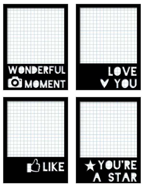 "Free ""Polaroid"" Journal Cards from scrappystickyinkymess"