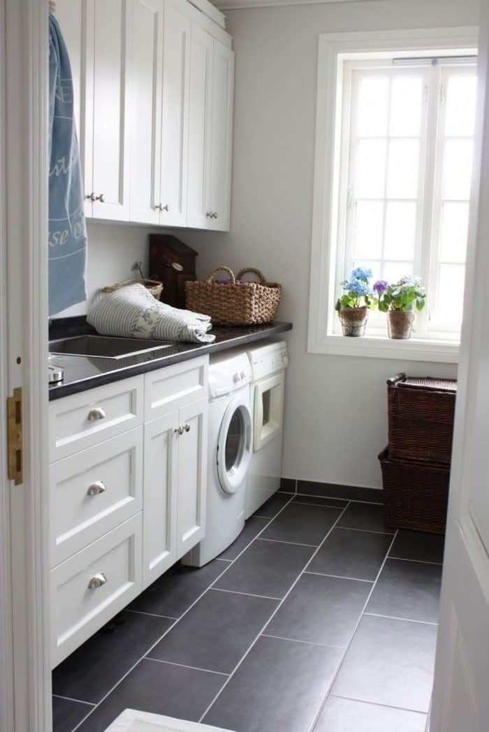Tips To Grouting Floor Tiles Laundry Room Flooring Laundry Room Tile White Laundry Rooms