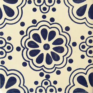 Tiles and Tiles... Decorative Talavera tile: os 204