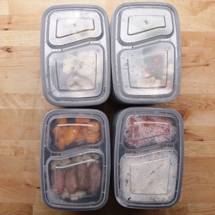 Weekday Meal Prep For 4 // #mealprep #dinner #lunch #steak #salmon #salad #recipes #goodful