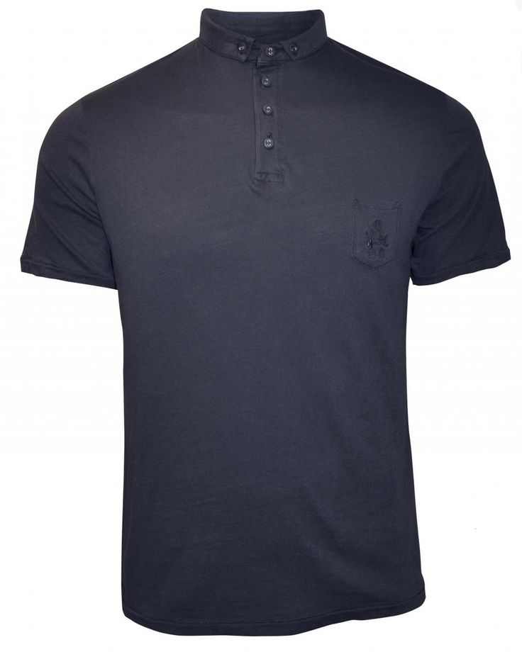 Bolongaro Trevor This polo has a button down collar and our signature T shaped back panels with grinning stich and stepped hem. It features a chest pocket with double hawk embroidery. 100% Cotton