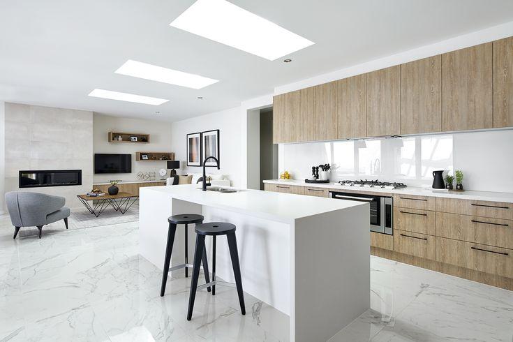 Macedon 333 kitchen on display at Kialla Lakes Estate, Shepparton.