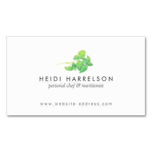 Green Leaves Nutritionist, Holistic Healtcare, Naturopaths, Alternative Medicine Customizable Business Card Template - easy to personalize.