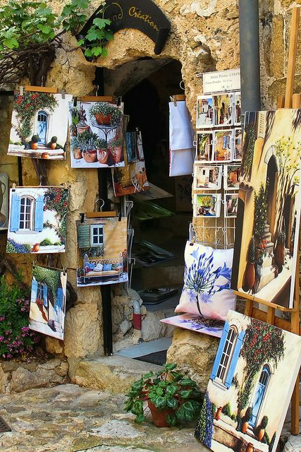 Eze,  Provence, France