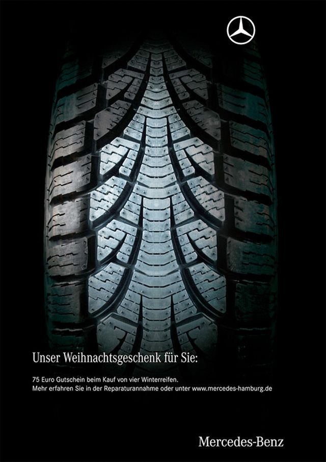 Mercedes-Benz Christmas ad. Agency Mercedes-Benz Hamburg, Germany