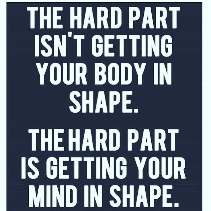 I'm reposting this because the first bit isn't completely true , as getting into shape isn't as easy as it sounds, but I feel as many overlook the second part. It is so important to have a strong mindset , especially if you take a sport seriously such as me and cross country. I wouldn't be able to finish if I wasn't determined and my brain is constantly telling my legs to stop, when i can still go further. Don't be a prisoner to your brain and believe in yourself.