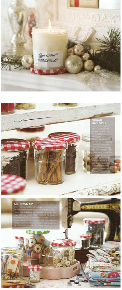 Great ways to use empty Bonne Maman jelly jars