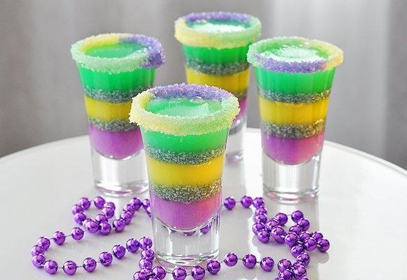 Vodka Jelly Cake Recipe: King Cake Jelly Shots