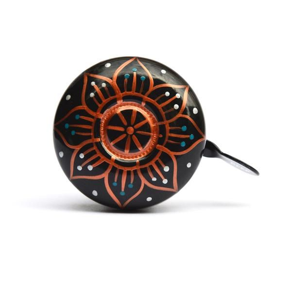 MANDALA NIGHT bicycle bell, bike bell design, bicycle art, cycle chic
